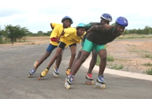 African Speed Skaters